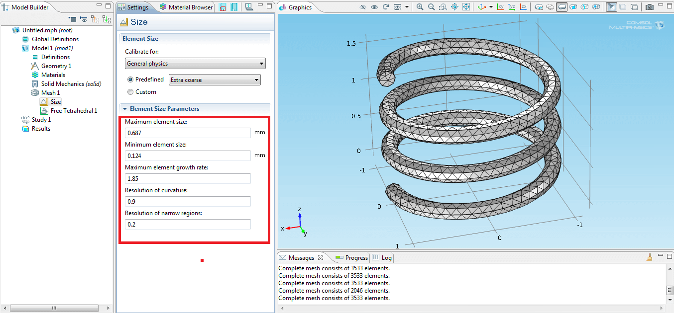 COMSOL screenshot