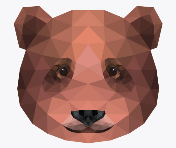triangulation of a bear
