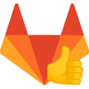"""Official GitLab Merge Request Upvotes Extension Logo"""