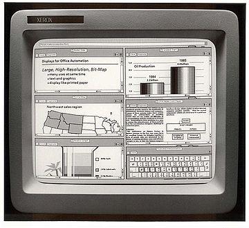 Xerox Star 8010 workstations
