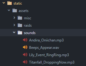 Sounds Folder