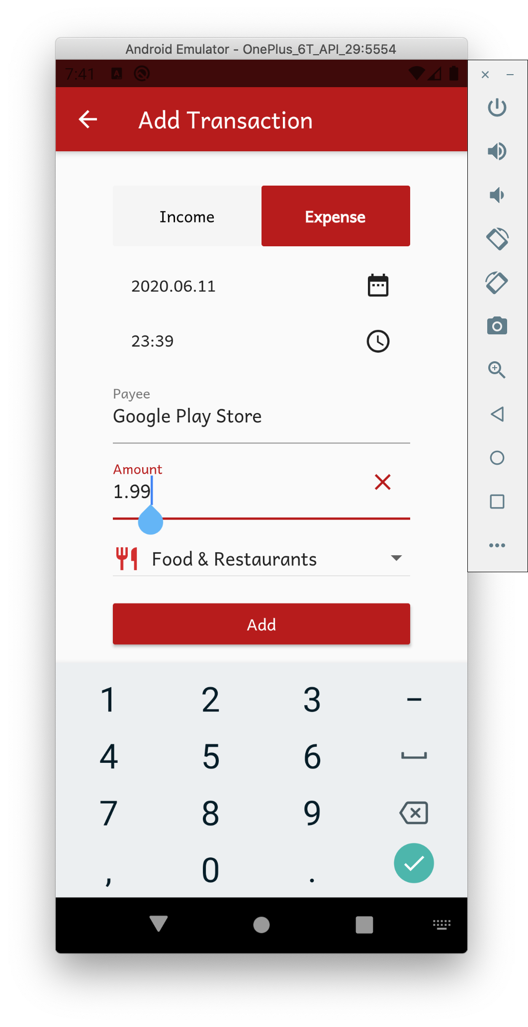 Adding Google Play Store Purchase