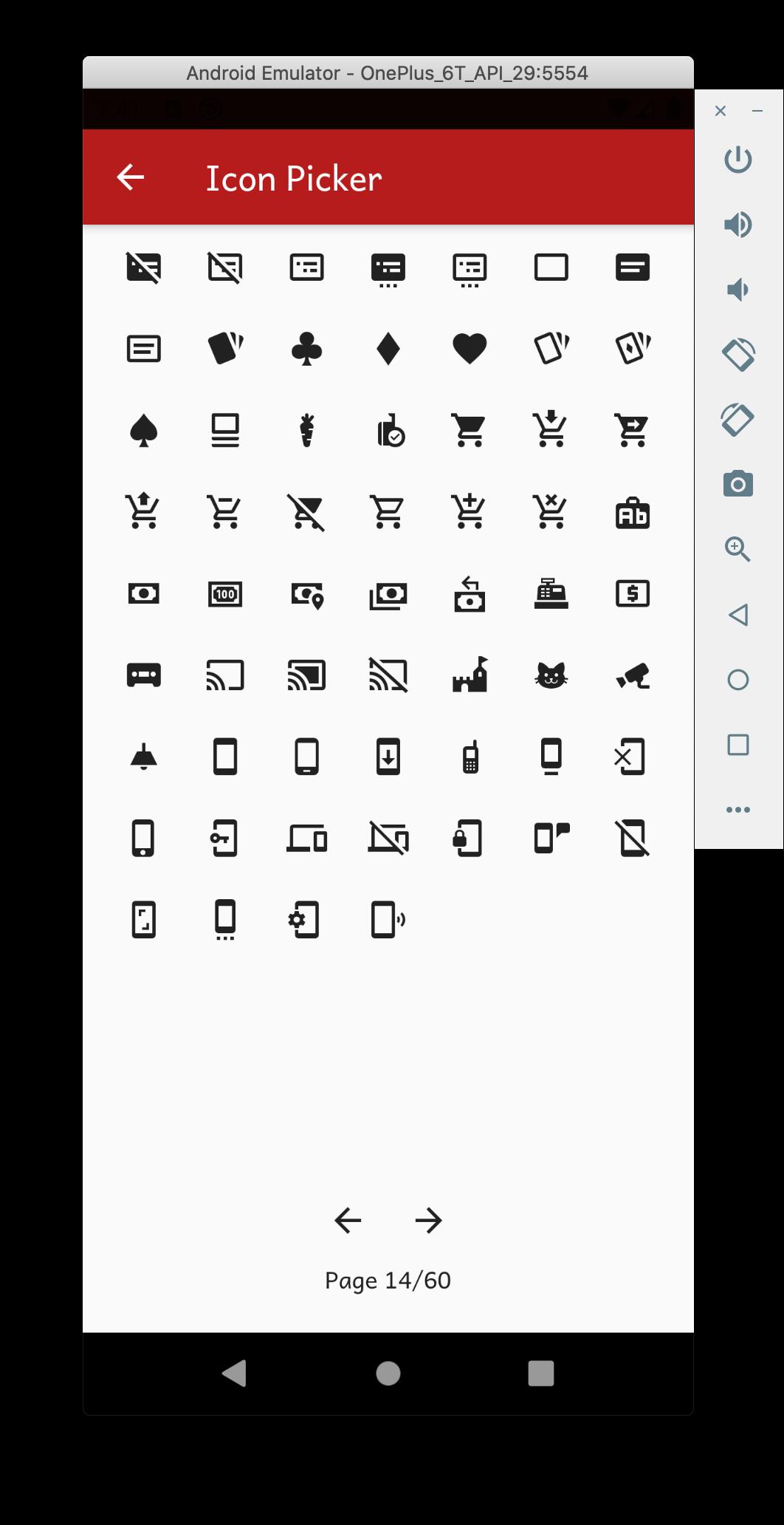 Adding Category Icon
