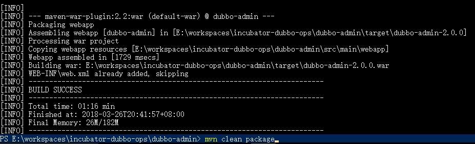 mvn-clean-package
