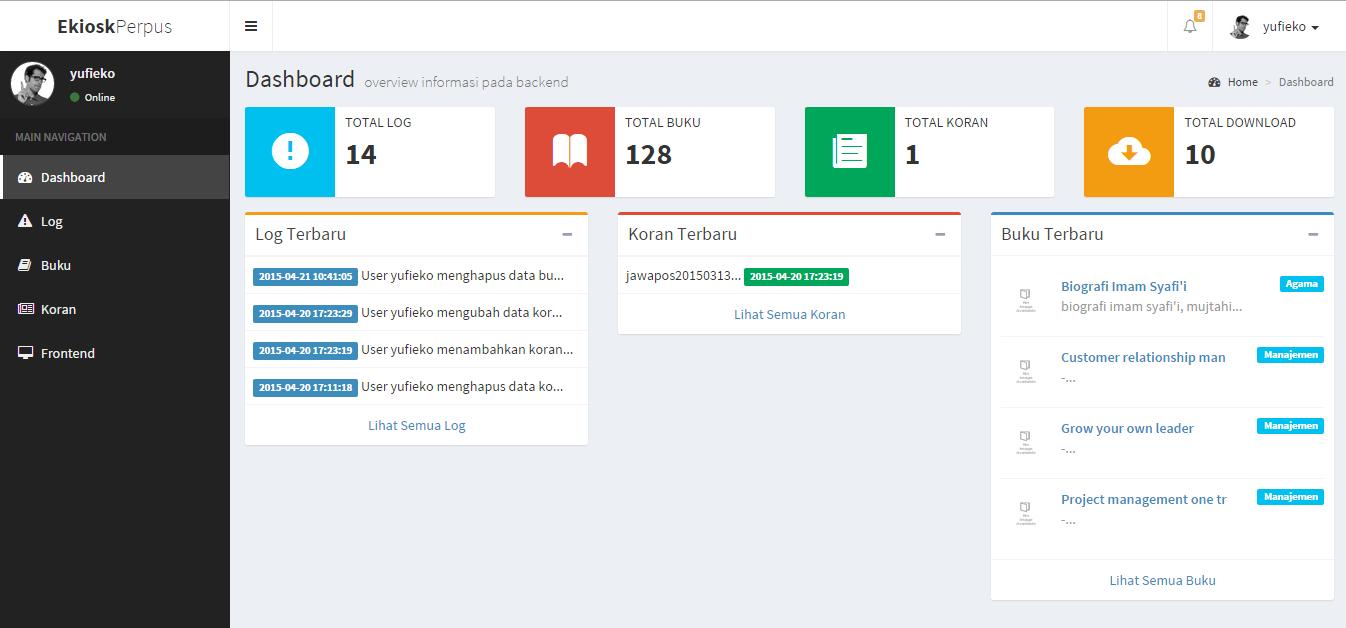 Download Source Code Tugas Akhir Aplikasi perpustakaan dengan PHP Dan Mysqli