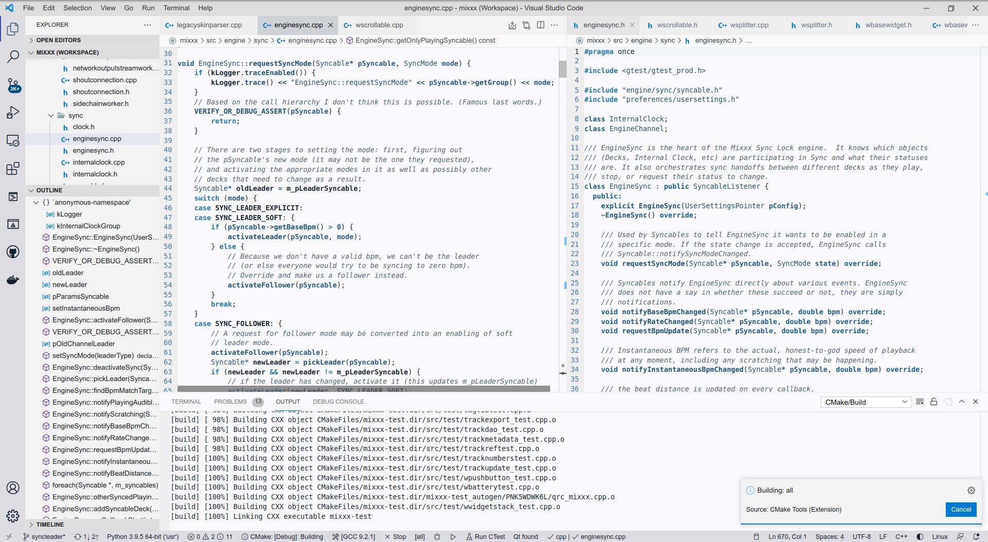 Visual Studio Code Cerulean light theme preview