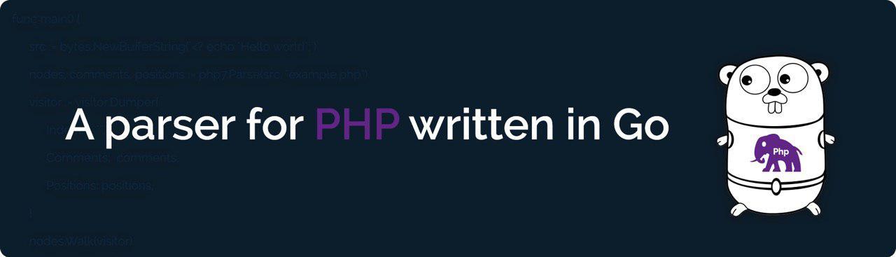 PHP Parser written in Go