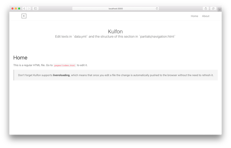 Kulfon Theme: Default