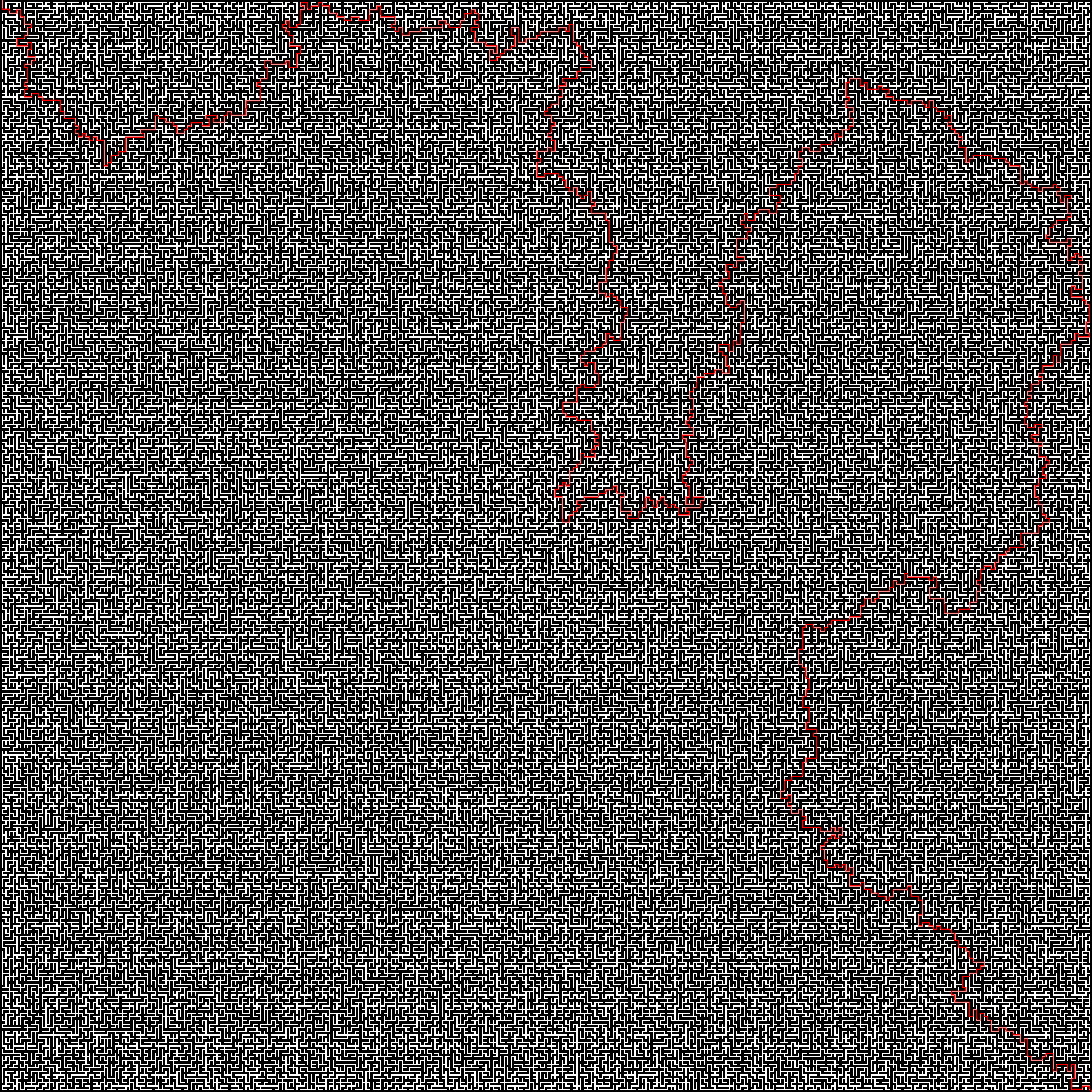 GitHub - zakupower/Maze-Solver: Solves maze images with 1 px