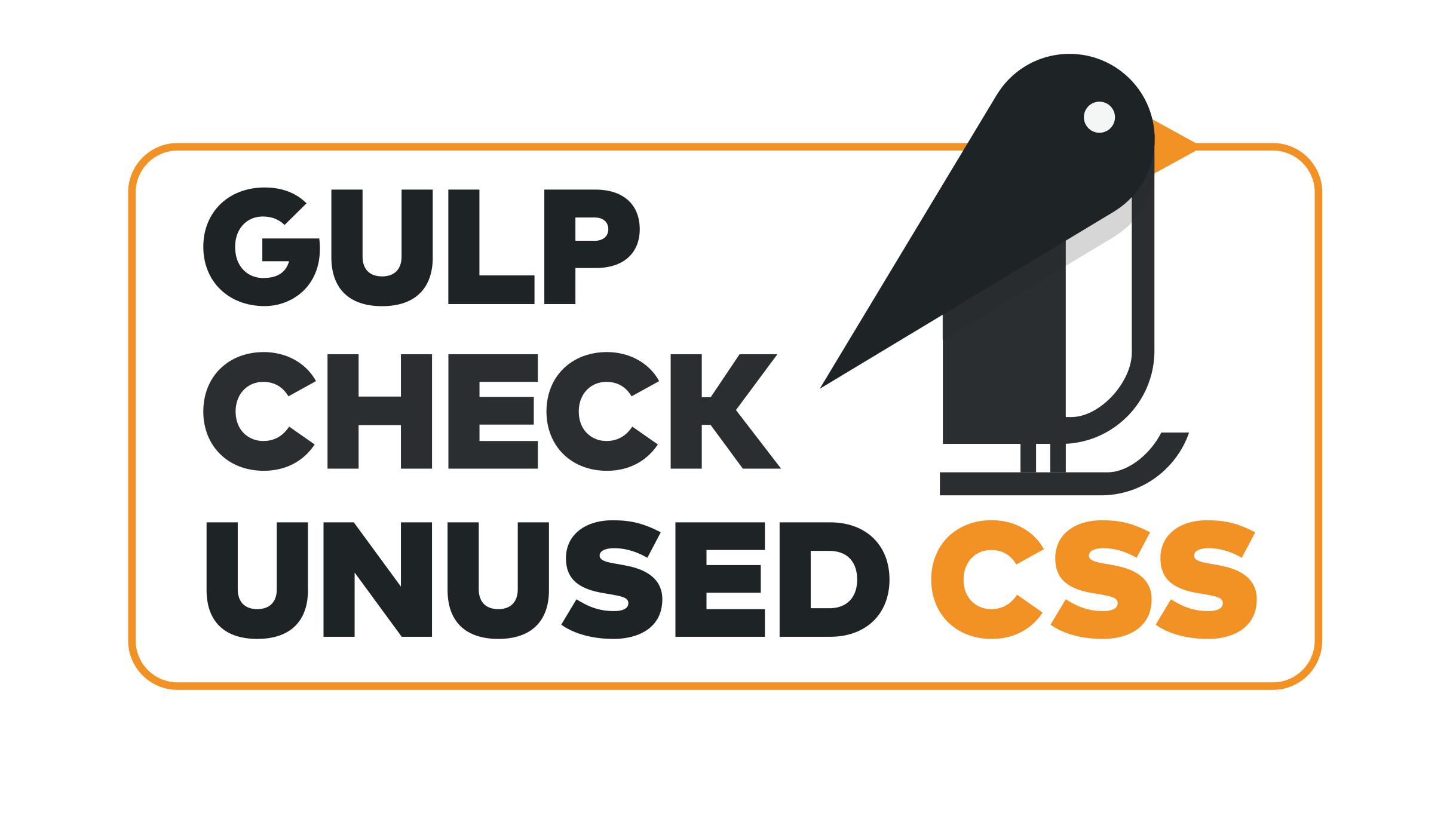 gulp-check-unused-css