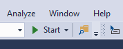 Visual Studio - Start