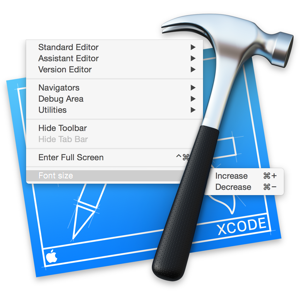 how to open a file in xcode
