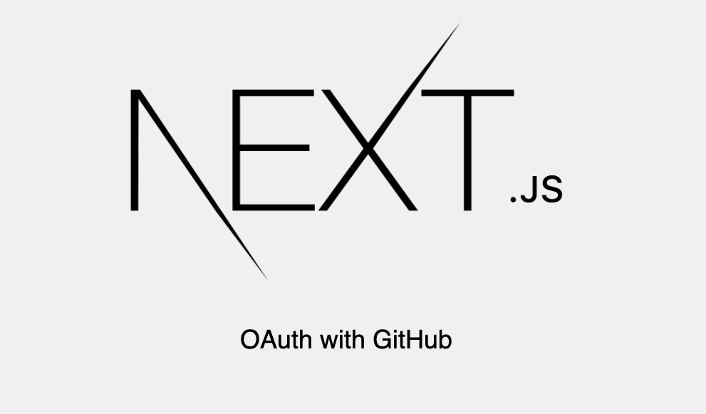 NextJS OAuth with Passport and Github