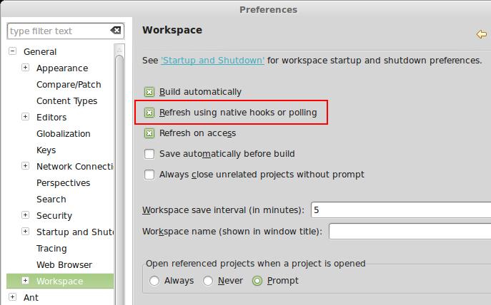 how to change eclipse workspace default jre