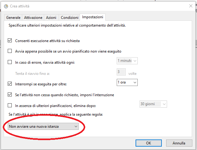 Avoid multiple instances for Http monitoring tool