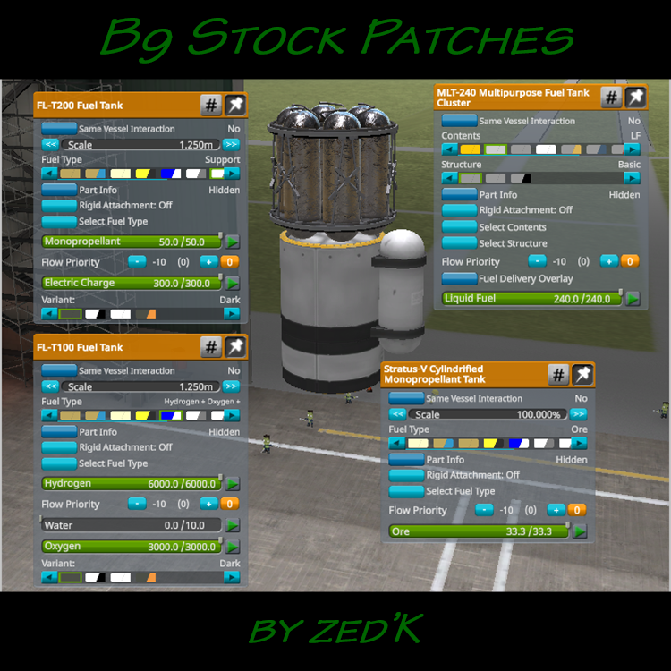 B9 Stock Patches