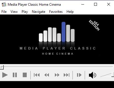 Screenshot MPC-HC