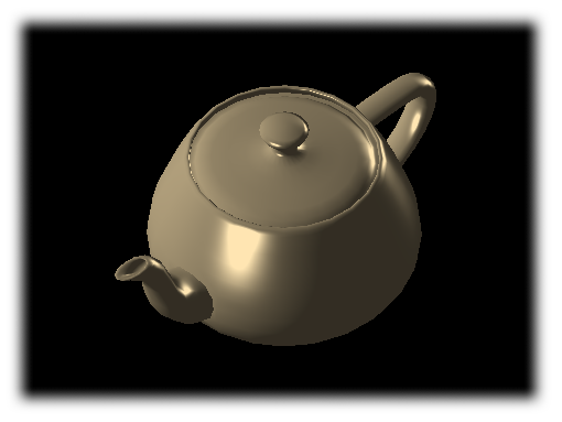 The Utah Teapot, rendered with Euc