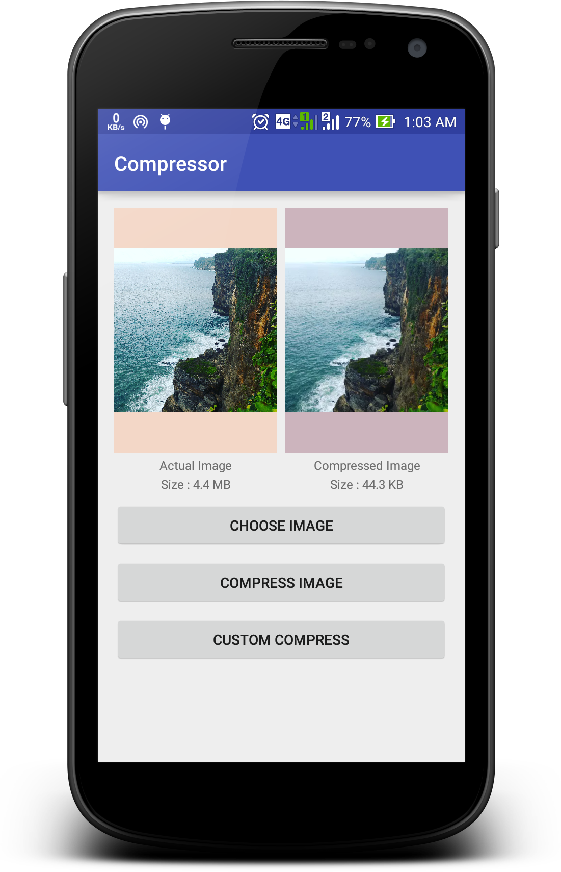 GitHub - zetbaitsu/Compressor: An android image compression library