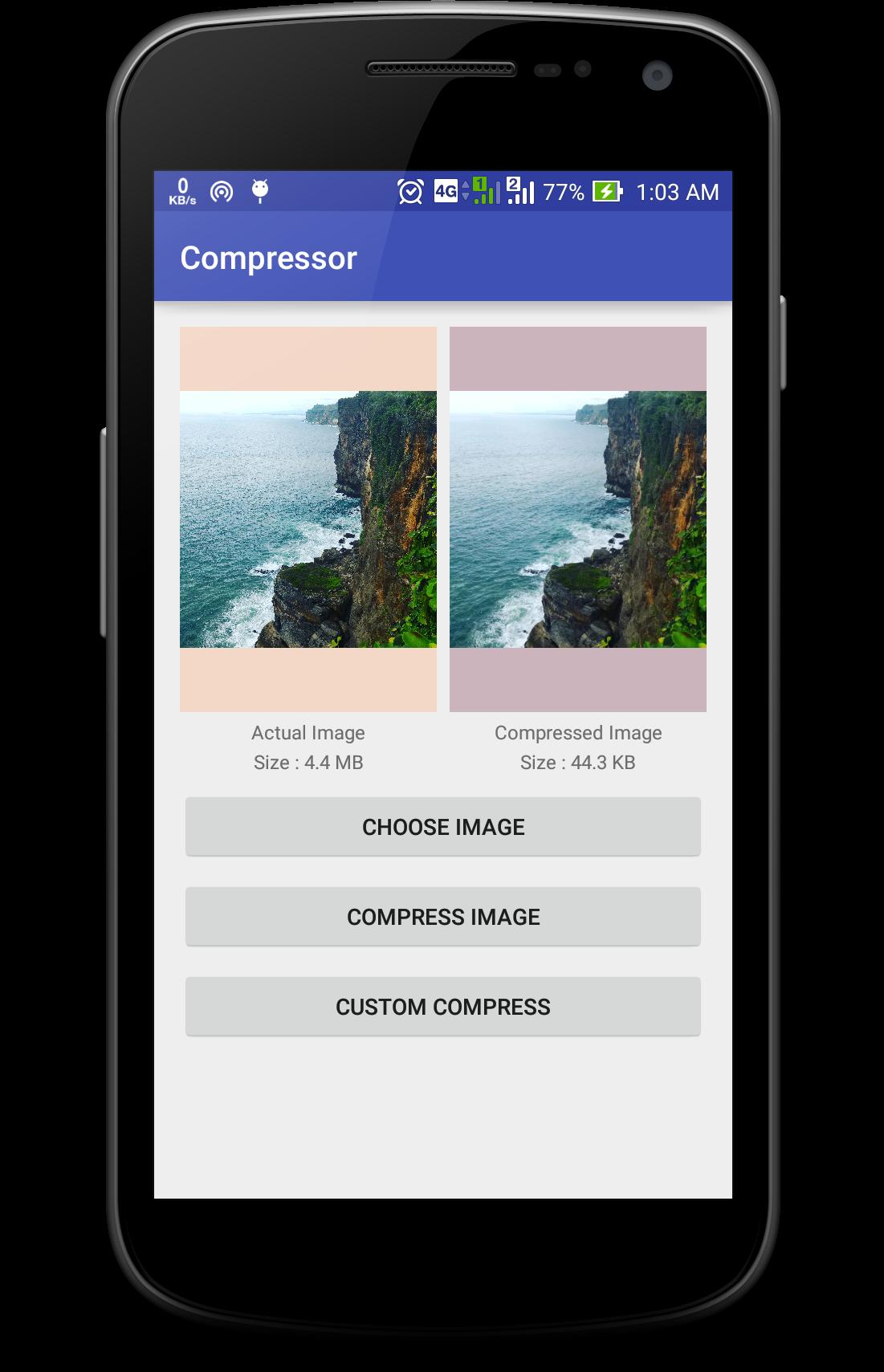GitHub - zetbaitsu/Compressor: An android image compression