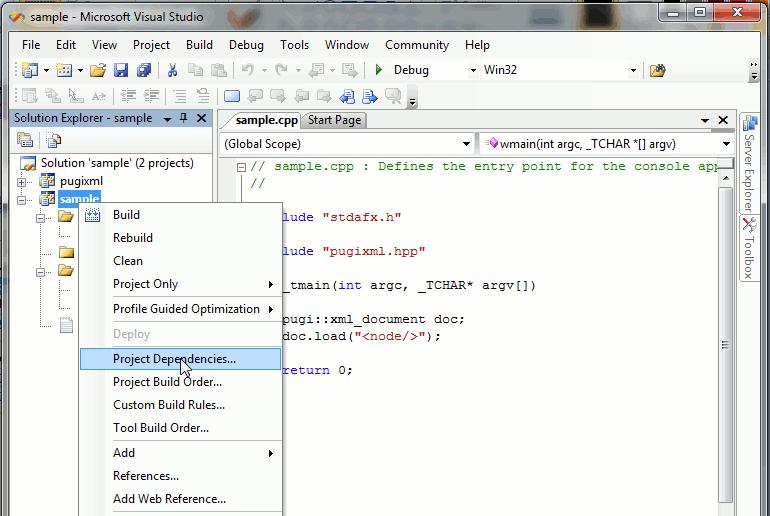 vs2005 link1