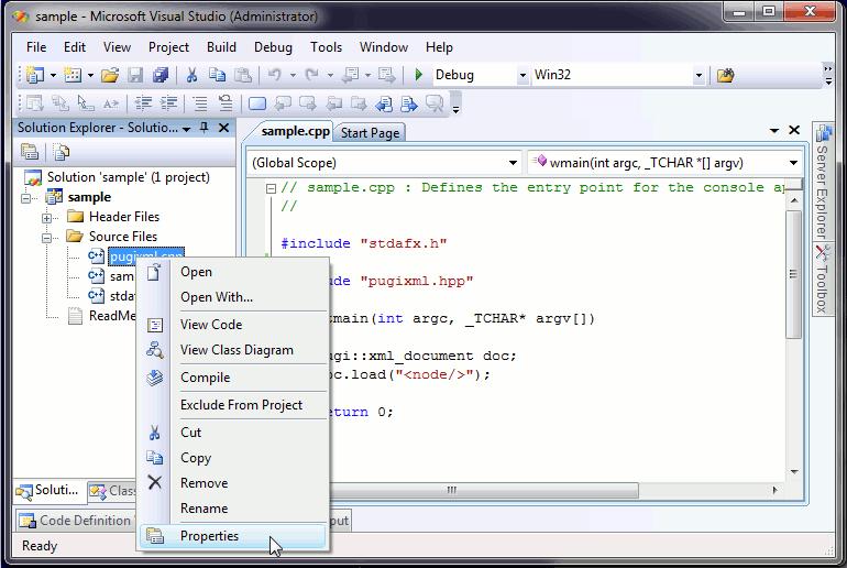 vs2005 pch1