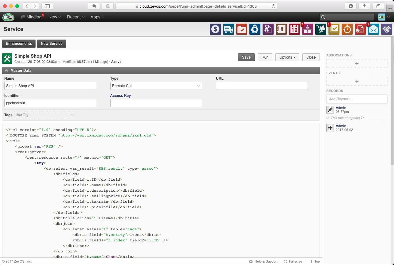 Shop API