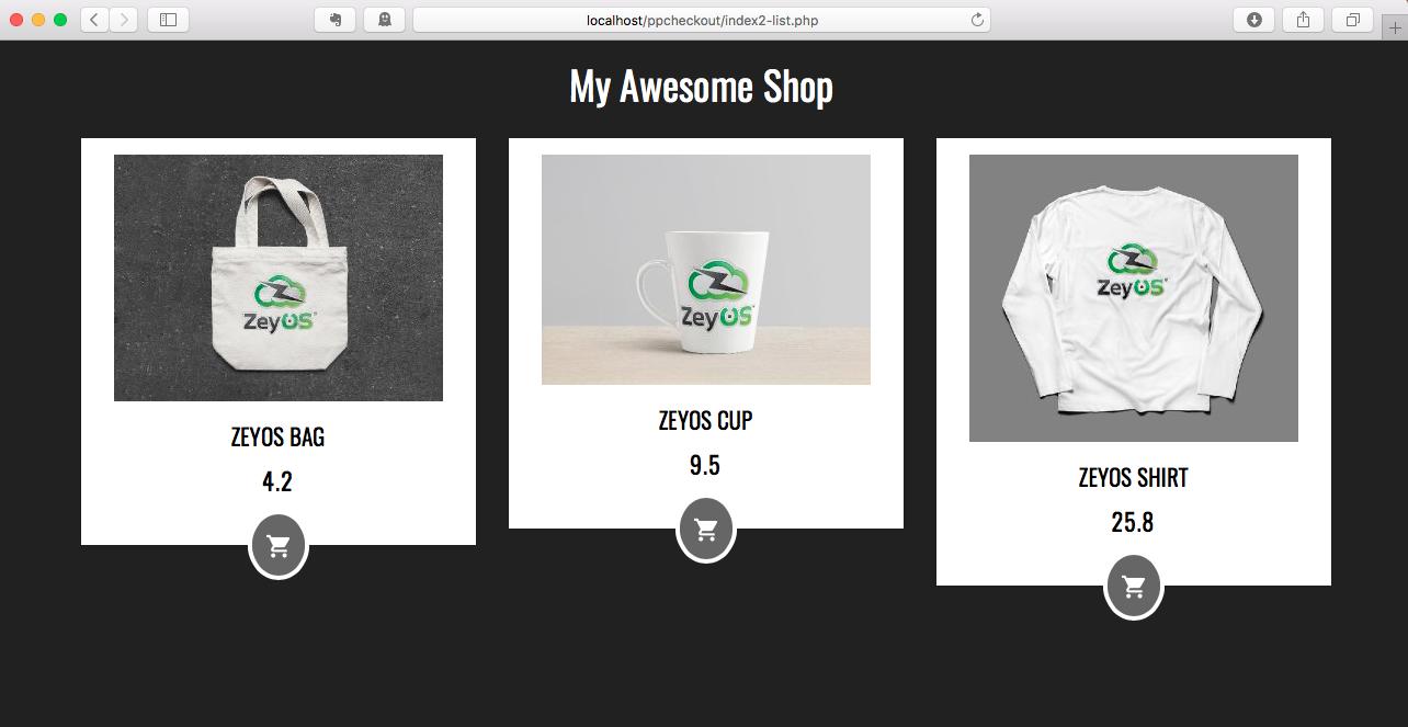 Shop Result