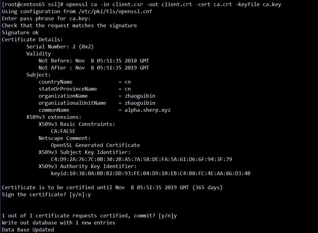nginx配置HTTPS