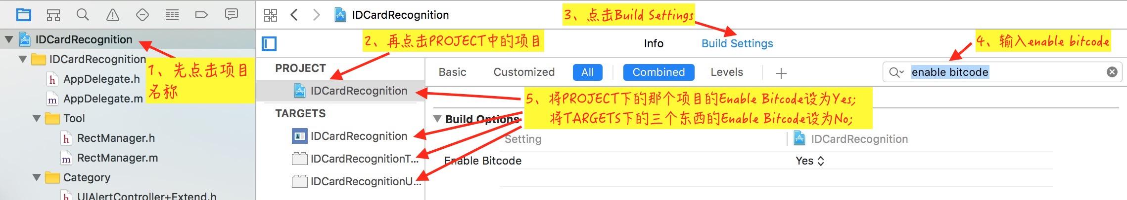 ENABLE_BITCODE Error 解决方法