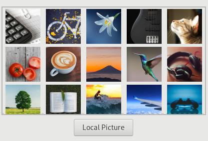 Choose Images: