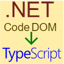 TypeScript CodeDOM logo
