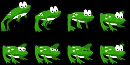 Frog spritesheet