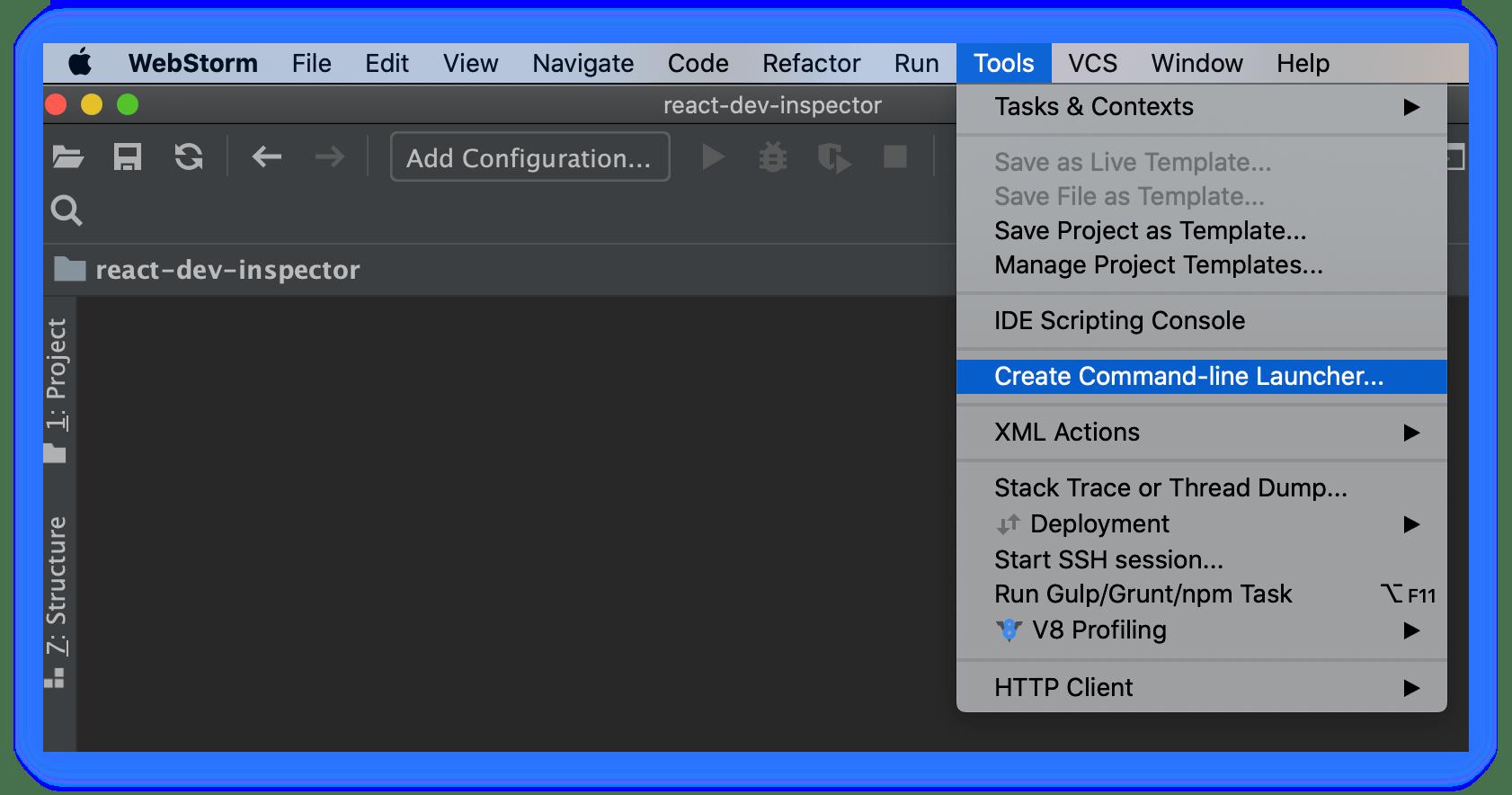 install-webstorm-cli
