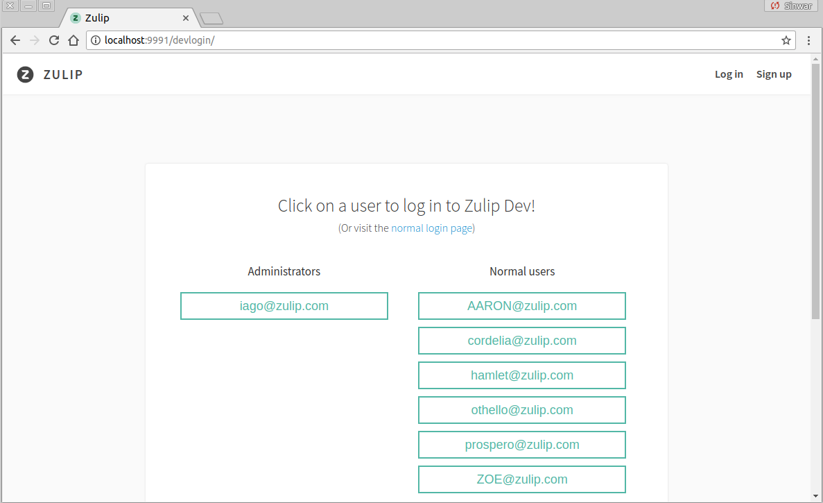 Zulip Documentation