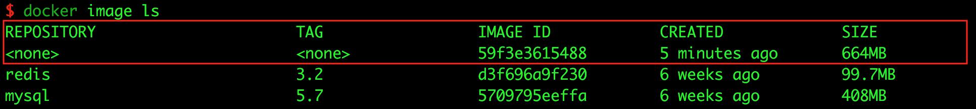 docker-image-ls
