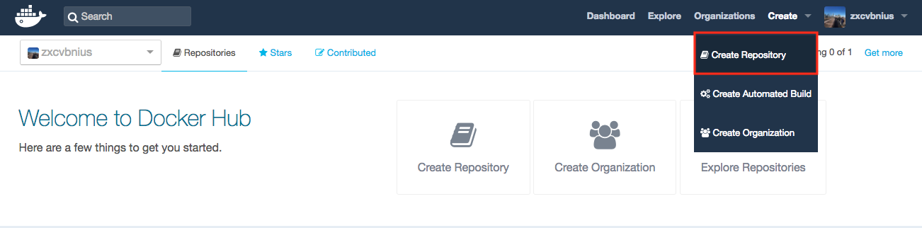 docker-hub-create-repo