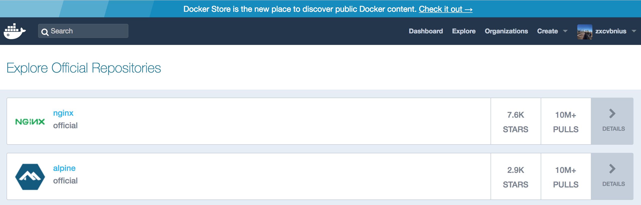 docker-hub-explore