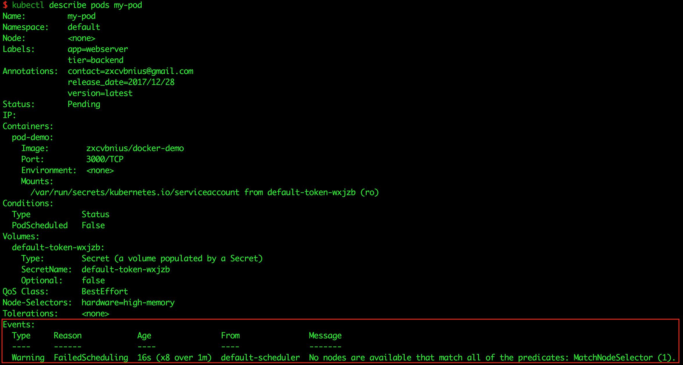 kubectl-describe-pod-with-wrong-node-selector