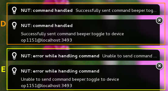 Device Commands - Notify