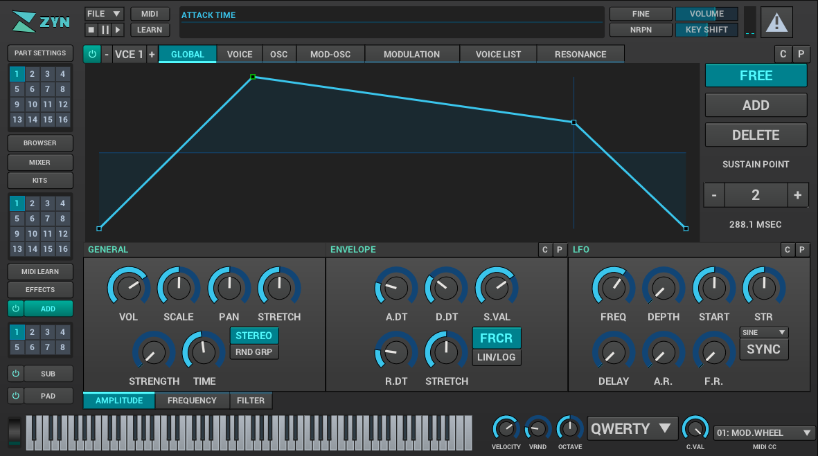 Zyn-Fusion Add Synth Editor