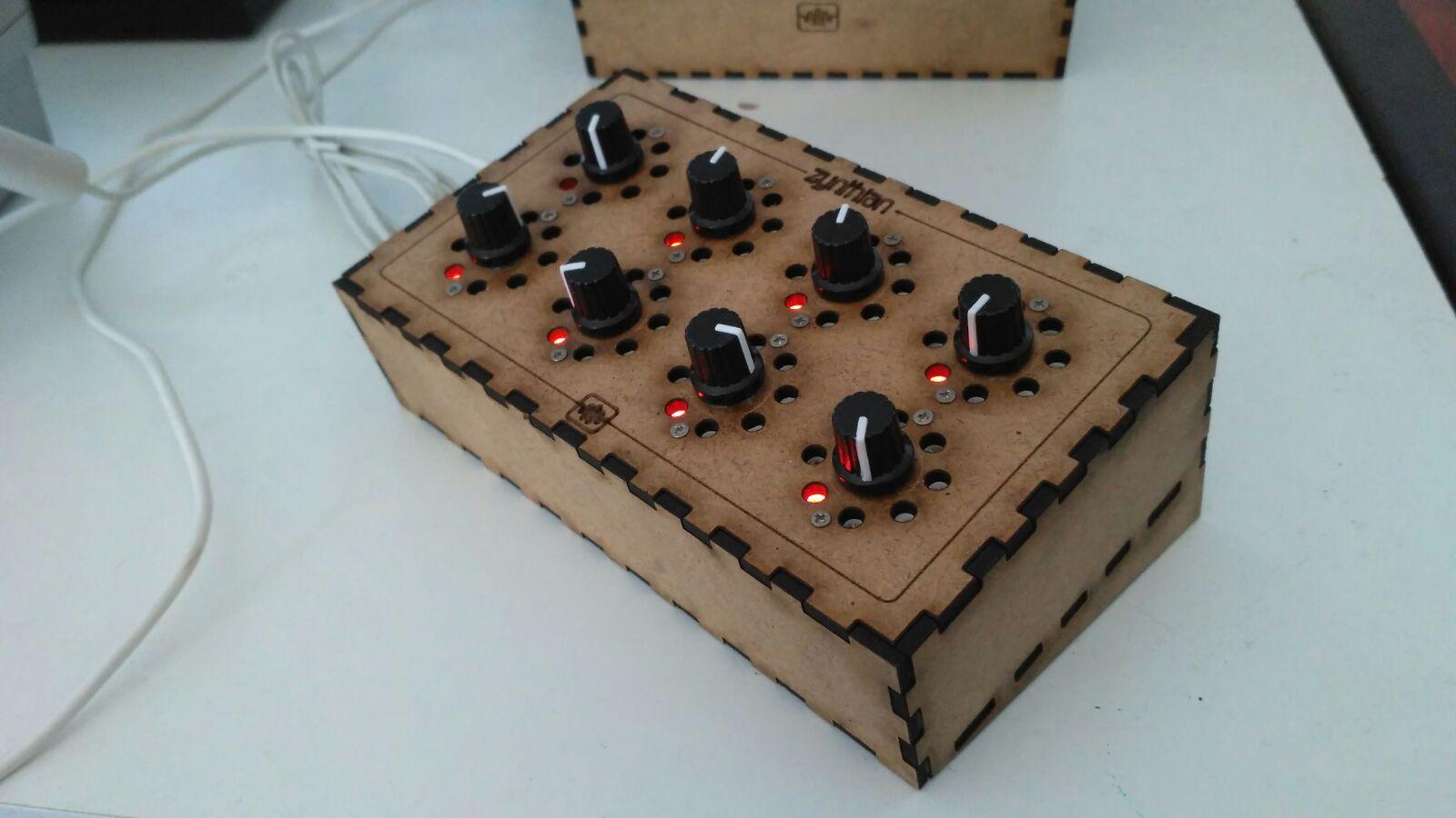 GitHub - zynthian/zynthian-controller: Zynthian MIDI-USB
