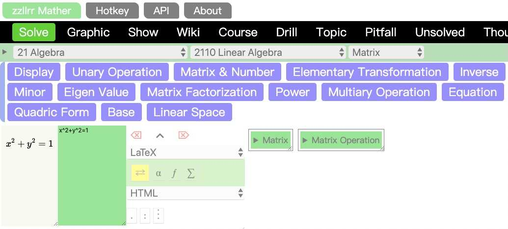 zzllrr Mather Demo Version Screenshot